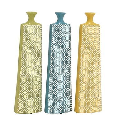 Cole & Grey Ceramic Vase (Set of 3)