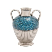 Cole & Grey Metal Mosaic Vase