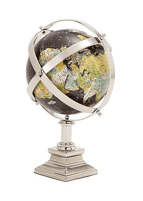 Cole & Grey Metal World Globe