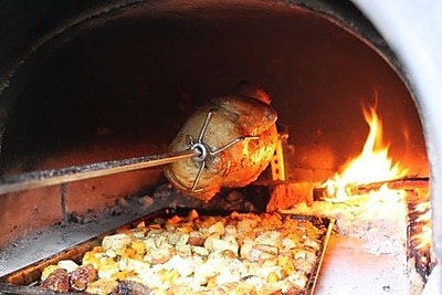 Authentic Pizza Ovens Spit/Rotisserie for Brick Oven WYF078280219570