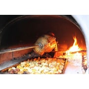 Authentic Pizza Ovens Spit/Rotisserie for Brick Oven