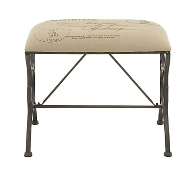Cole & Grey Accent Stool