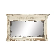 Cole & Grey Wood Wall Mirror
