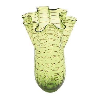 Cole & Grey Fluted Handkerchief Vase