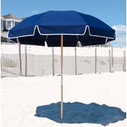 Frankford Umbrellas 7.5' Beach Umbrella; Navy Blue Acrylic