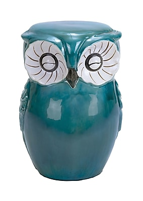 Cole & Grey Ceramic Owl Stool