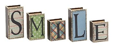 Cole & Grey 5 Piece Decoravtive Box Set