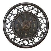 Cole & Grey 36'' Wood Wall Clock