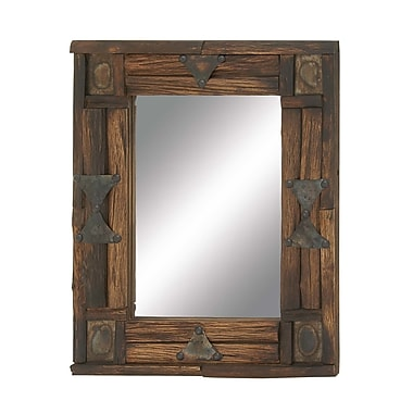 Cole & Grey Wood Mirror