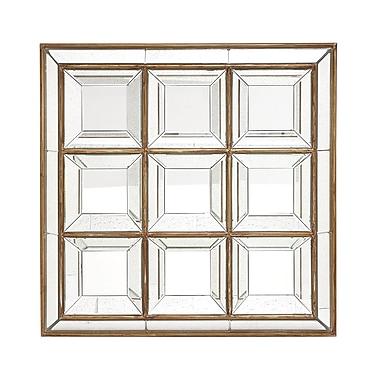 Cole & Grey Wood Wall Mirror
