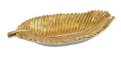 Cole & Grey Leaf Decorative Plate