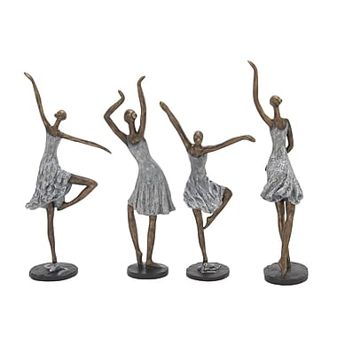 Cole & Grey 4 Piece Ladies Figurine Set