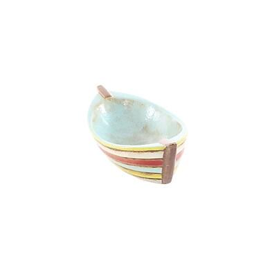 Cole & Grey Ceramic 2 Piece Model Boat Set
