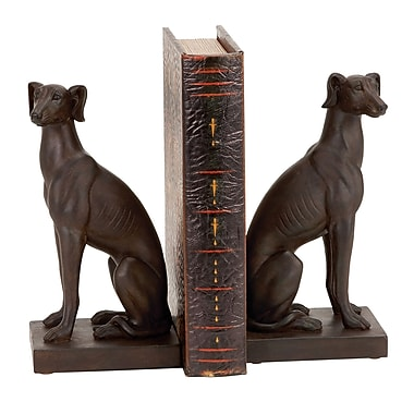 Cole & Grey Dog Book Ends (Set of 2)