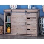 Cole & Grey 4 Drawer 1 Door Accent Cabinet