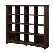 Darby Home Co Buena Vista 60'' 16 Cube Unit Bookcase; Madison Cherry