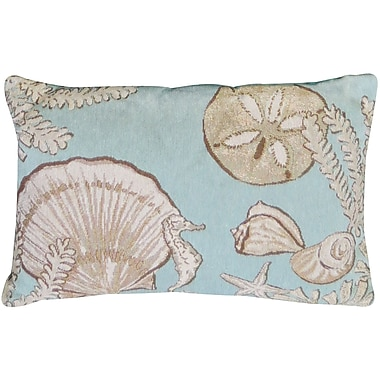 Park B Smith Ltd Sea Collage Tapestry Decorative Lumbar Pillow