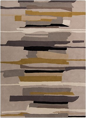 Corrigan Studio Lena Gray Rug; Rectangle 8' x 10'
