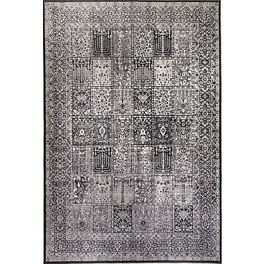 Dynamic Rugs Illusion Gray Area Rug; 7'7'' x 10'10''