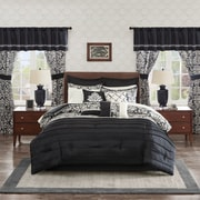 Astoria Grand Latimer 24 Piece Room in a Bag Set; Queen