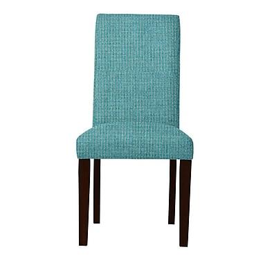 Maison Domus Home Carrie Parsons Chair (Set of 2); Light Blue