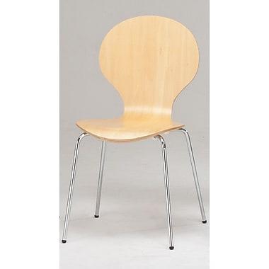 ErikC Elsa Side Chair (Set of 2); Natural