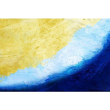 Maxwell Dickson ''Waves'' Painting Print on Canvas; 40'' H x 60'' W