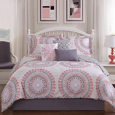 Studio17 Parma 7-Piece Reversible Comforter Set; Queen