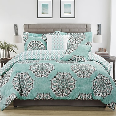 Studio17 Danialla 5-Piece Reversible Comforter Set; King