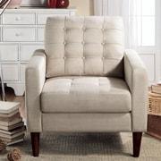 RoseveraHome Catarina Arm Chair; Beige