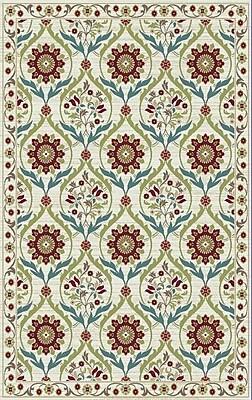 Rugs of Dalton Brighten Cream Area Rug; 8' x 10'