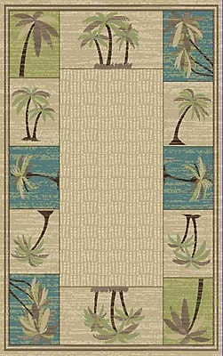 Rugs of Dalton Brighten Tan Area Rug; 5' x 8'