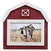Prinz Wood Barn Picture Frame; 6'' x 4''