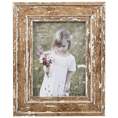 Prinz Old Mill Distressed Wood Picture Frame; 5'' x 7''
