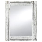 Prinz Water's Edge Homestead Accent Wall Mirror; White