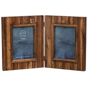 Prinz Acacia Wood Hinged Picture Frame; Light Walnut