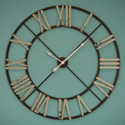 Darby Home Co Oversized 48'' Round Jasper Wall Clock