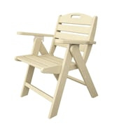 POLYWOOD  Nautical Dining Chair; Sand