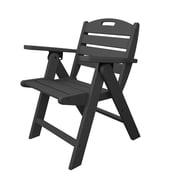 POLYWOOD  Nautical Dining Chair; Slate