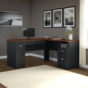 Darby Home Co L-Shaped Computer Desk