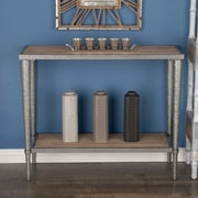 Cole & Grey Metal/Wood Console Table