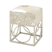 Cole & Grey Hide Stool