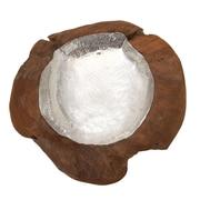 Cole & Grey Wood Resin Bowl