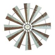 Cole & Grey Oversized Metal 39'' Wall Clock