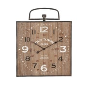 Cole & Grey Wood Wall Clock
