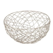 Cole & Grey 2 Piece Metal Wire Decorative Bowl Set