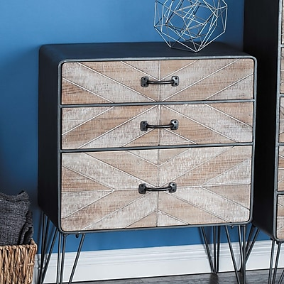 Cole & Grey 3 Drawer Accent Chest WYF078280057051