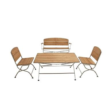 Cole & Grey 4 Piece Deep Seating Group