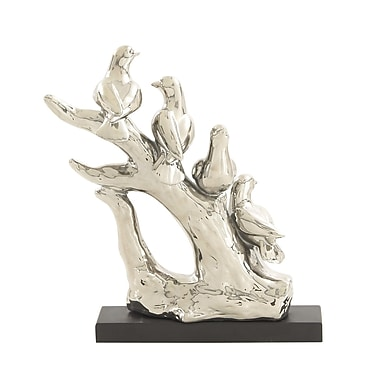 Cole & Grey Ceramic Bird on Tree