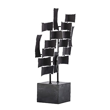 Cole & Grey Metal and Wood Sculpture